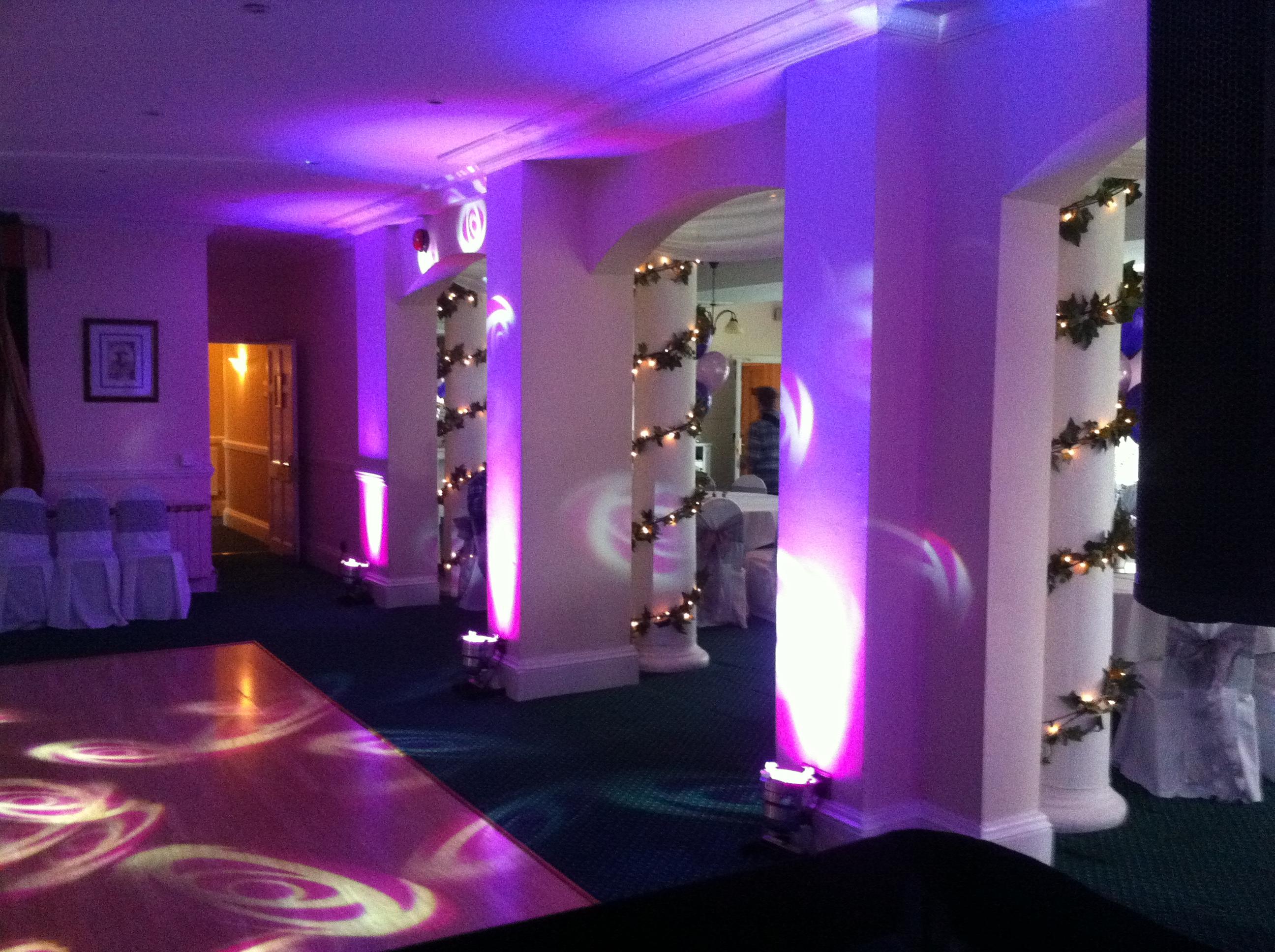 Mood Lighting Hire Wedding Dj Amp Wedding Disco Wedding Dj