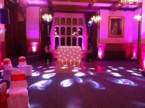 Aldermaston Manor Wedding Disco