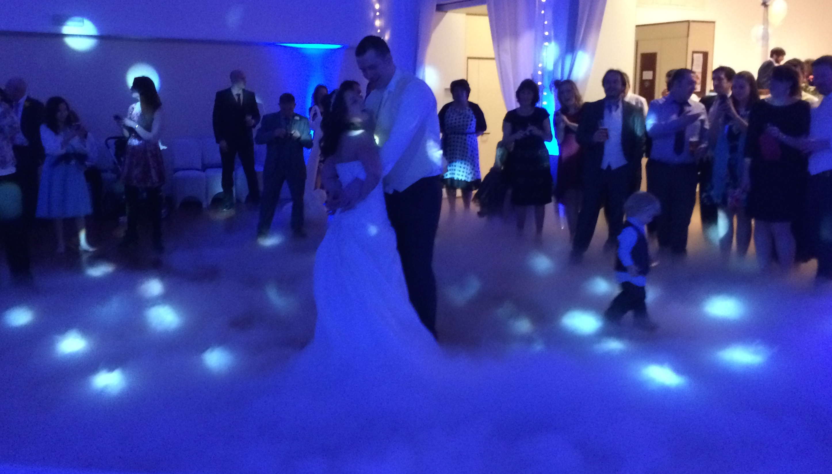 Dry Ice Effect Wedding