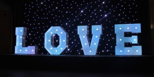 Love Letters Hire White