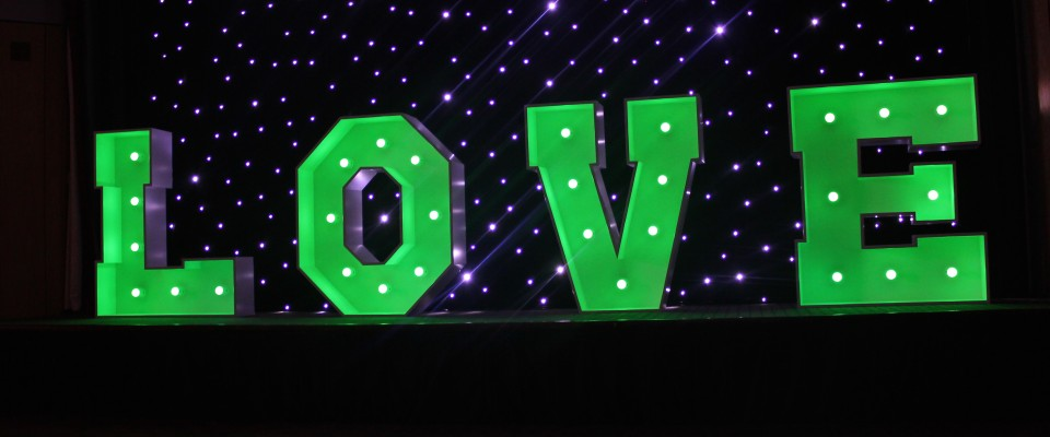 Love Letter Hire And Love Letters For Hire Wedding Dj